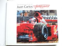 MOTOR SPORT ART OF JUAN CARLOS FERRIGNO : THE ( Hilton 2000) SIGNED by Ferrigno and STRLING MOSS
